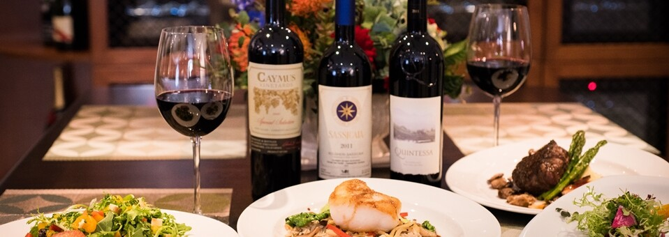 Queen City Club Wine with Dinner